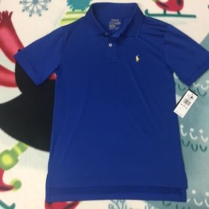 Boys Ralph Lauren Polo Performance Shirt